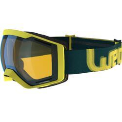 Ski-snowboardbril Bones 700 fotochroom geel alle weer 18
