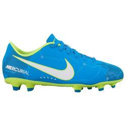 Chaussure de football enfant Mercurial Vortex FG bleue