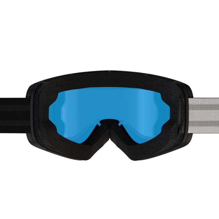 Ski- en snowboardbril volwassenen en kinderen G-Switch 700 alle weertypes zwart