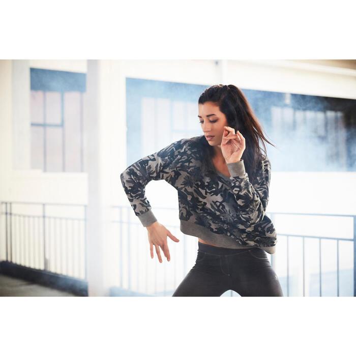 Sweat danse femme vert menthe. - 1203095