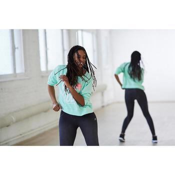 Sweat danse femme vert menthe. - 1203102