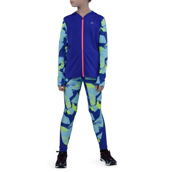Veste zippée capuche Gym Energy fille - 1203186