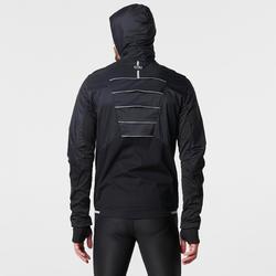 KIPRUN EVOLUTIV MEN'S RUNNING JACKET - BLACK/YELLOW