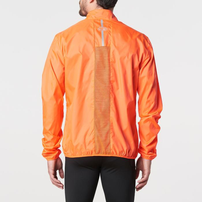 Laufwindjacke Run Wind Herren orange