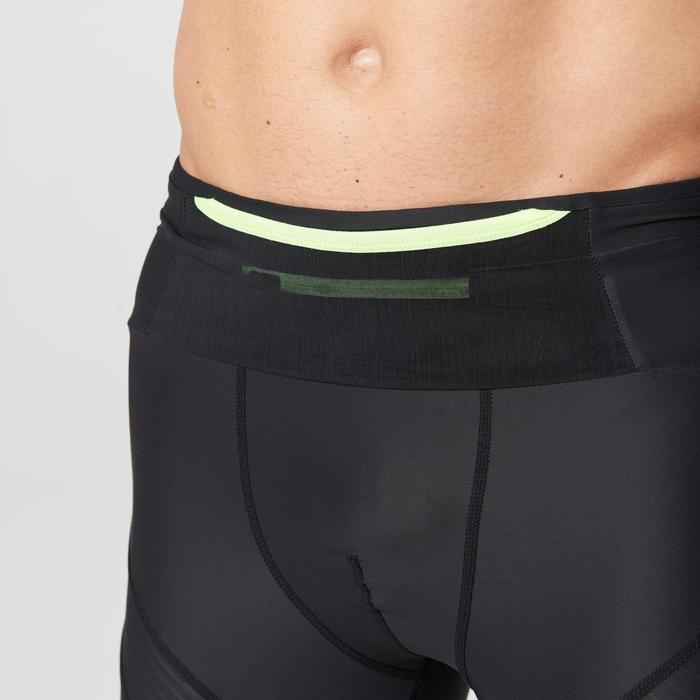 Compressietight heren Kiprun zwart