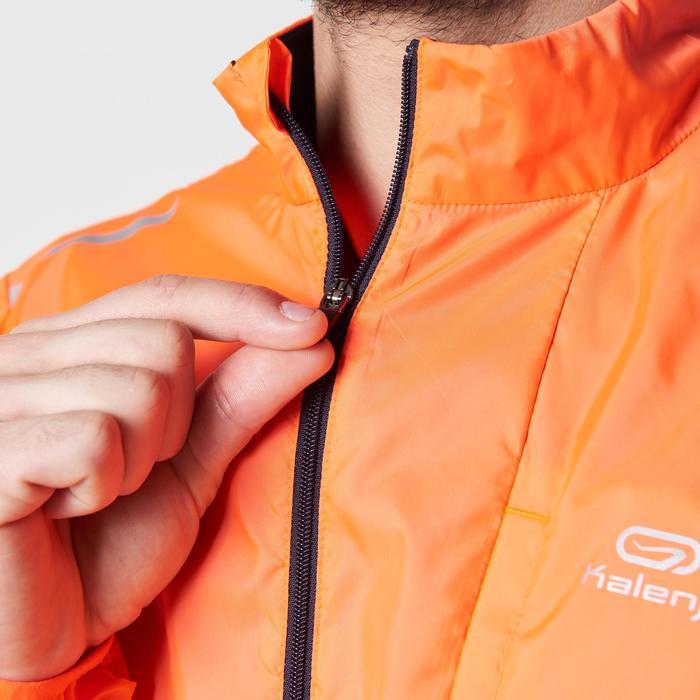 Windjack Run Wind voor hardlopen, voor heren, oranje