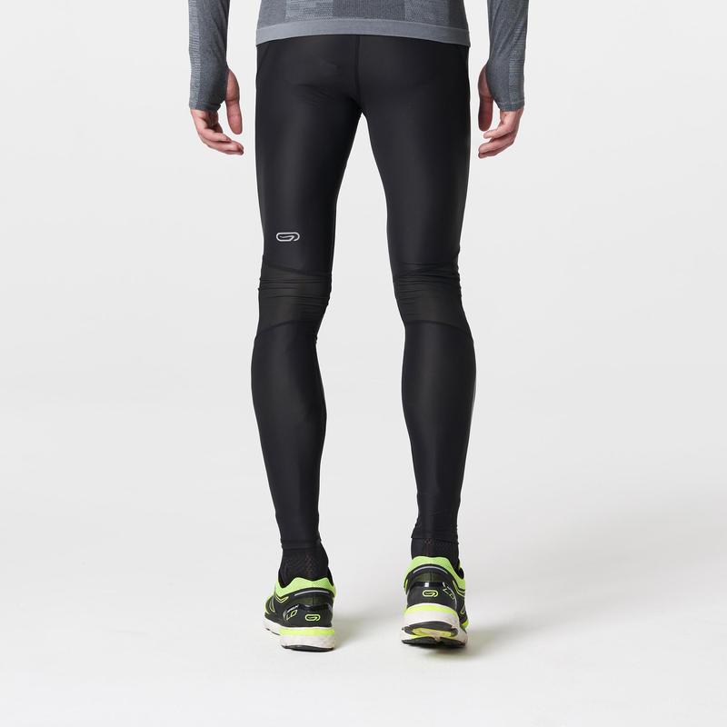 Kiprun Men's Running Compressive Tights - Black