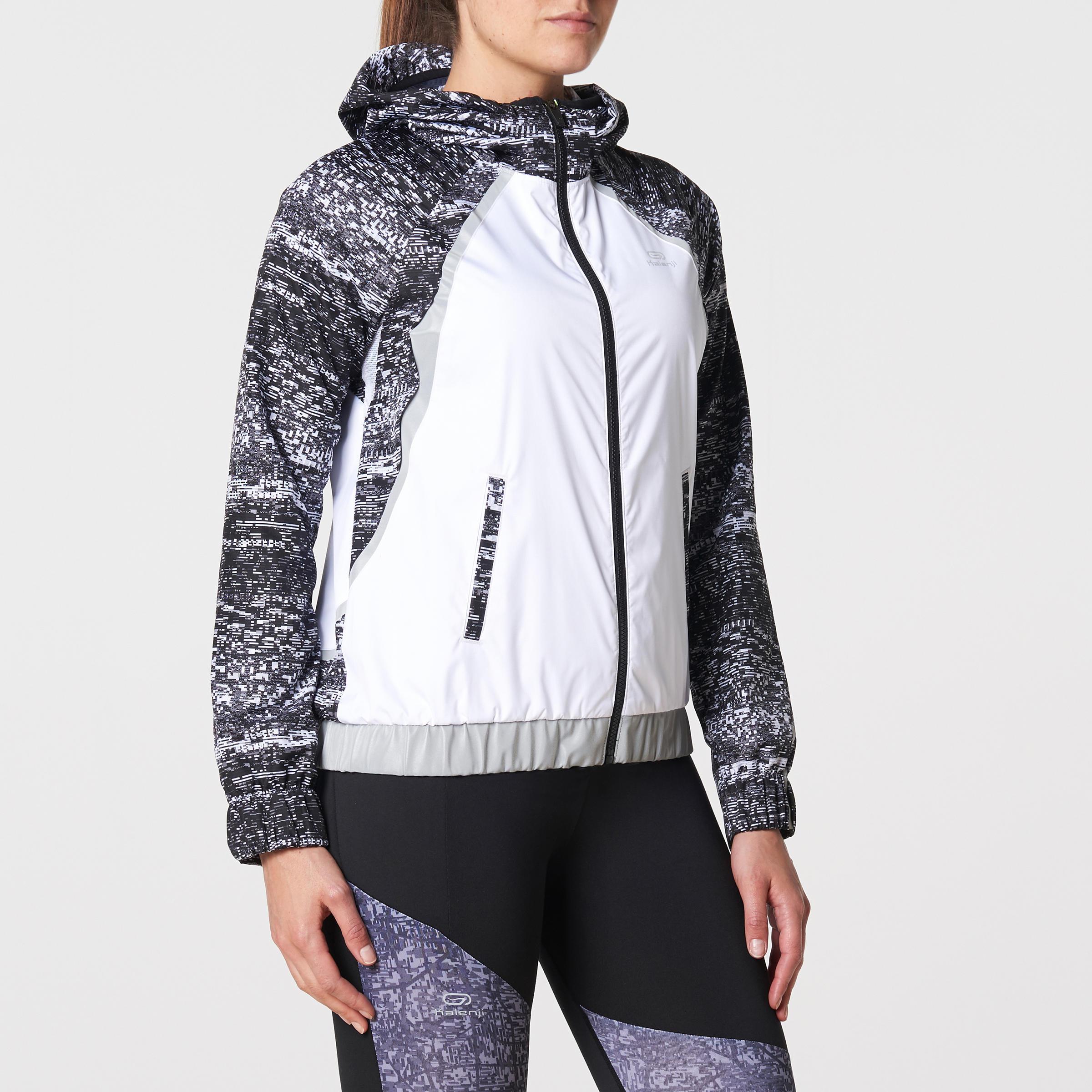 Jogging La Femme Course De Sous Soir Veste Blanche Pluie 3RqAjL54