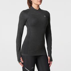 KALENJI KIPRUN CARE 女性跑步長袖T恤 灰色