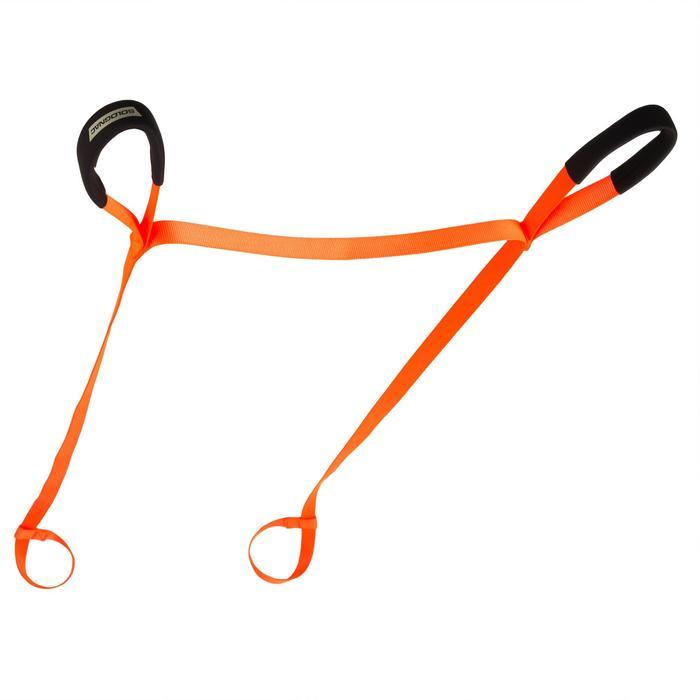 Sleepkabel voor wild 150 kg oranje