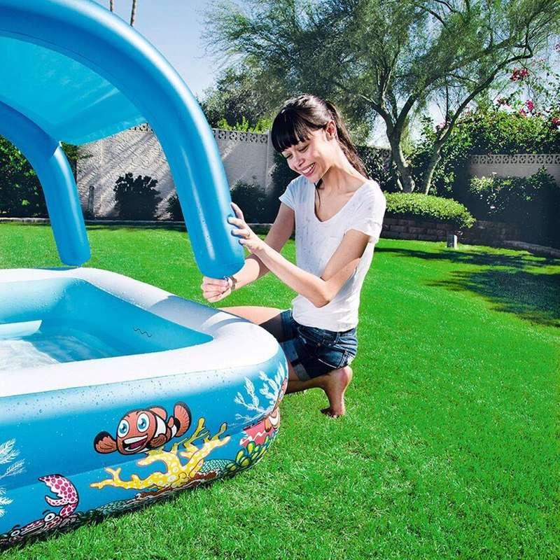 HAVUZ VE HAVUZ AKSESUARLARI Su ve Yaz Sporları - Canopy Güneşlikli havuz KARAKUS OYUNCAK PAZA - SPORLAR
