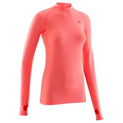 Kalenji Kiprun Care Running Long Sleeved T-Shirt - Coral