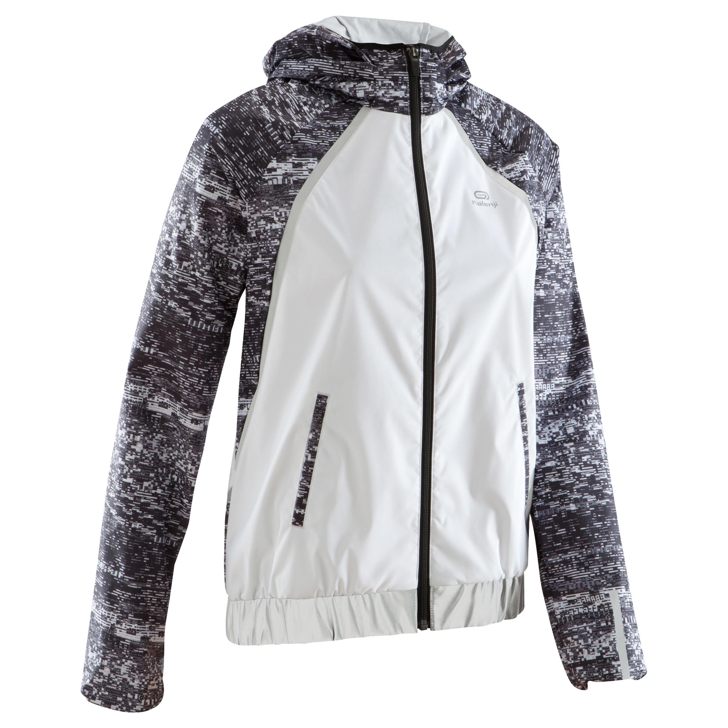 Run Rain Women's Running Rain Jacket - White