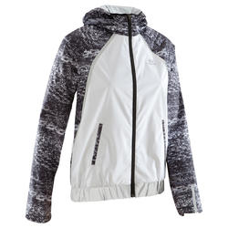 Run Rain Women's Running Rain Jacket - White