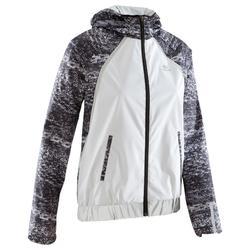 RUN RAIN NIGHT 女性跑步運動防雨夜間夾克 - 白色