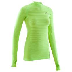 Dames T-shirt met lange mouwen voor hardlopen Kalenji Kiprun Care