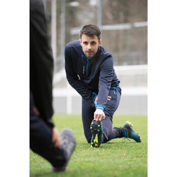 Voetbal trainingsbroek TP500 voor volwassenen marineblauw