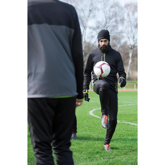 Voetbalhandschoenen voor volwassenen Keepdry 500 volwassenen zwart