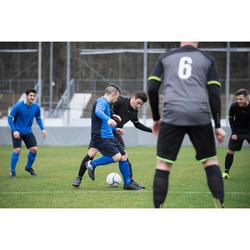 Botas de Fútbol adulto Kipsta Agility 100 FG negro y blanco