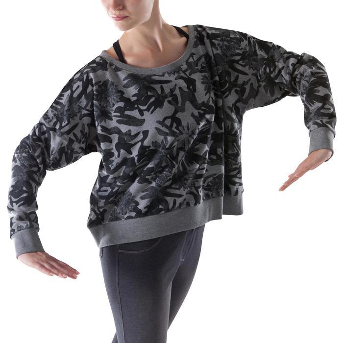 Sweat danse femme vert menthe. - 1204017