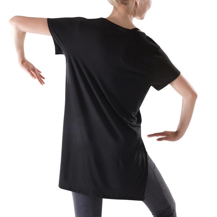 Lange losse danstuniek dames zwart