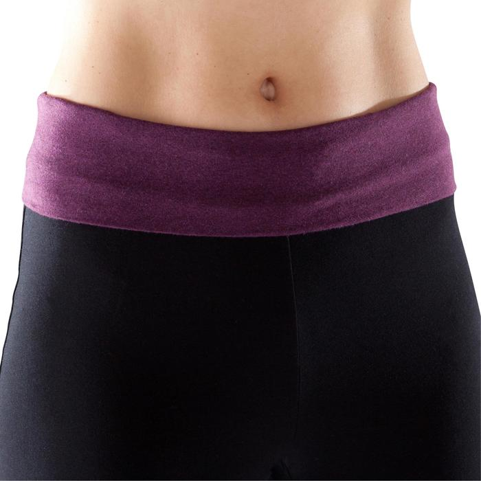 Short yoga doux femme coton issu de l'agriculture biologique - 1204052