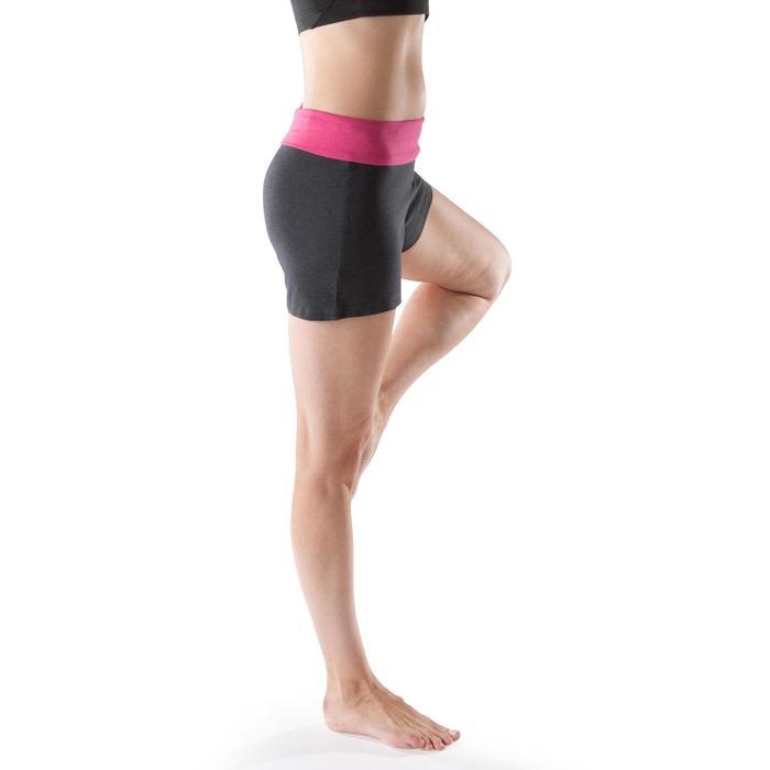 Short yoga doux femme coton issu de l'agriculture biologique - 1204067
