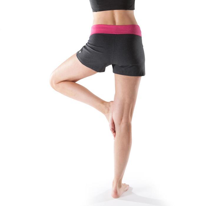 Short yoga doux femme coton issu de l'agriculture biologique - 1204068
