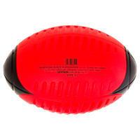 Balón de Rugby Offload Iniciación Wizzy R100 Espuma Talla 3 Rojo