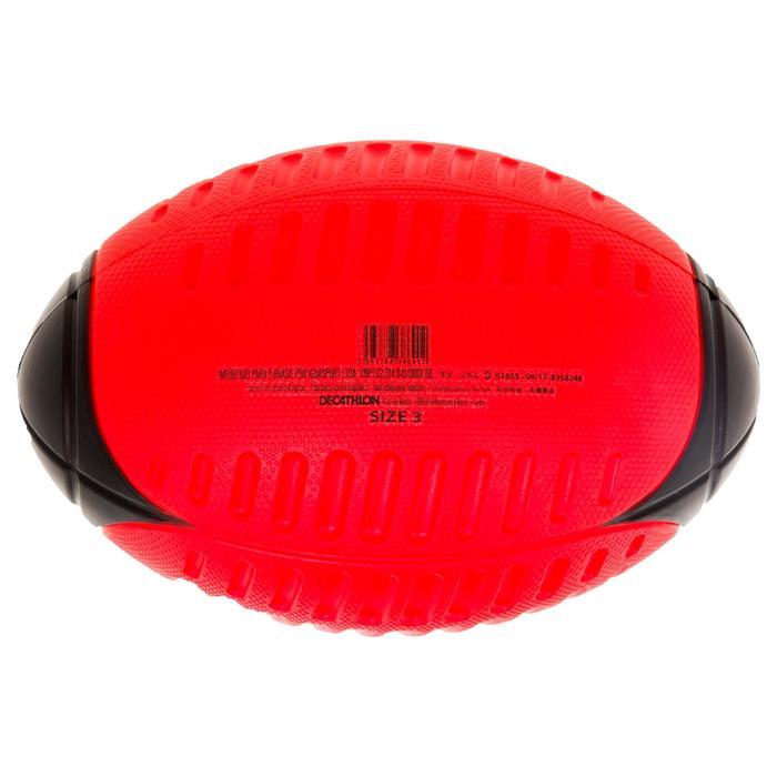 Schuimstof rugbybal Wizzy maat 3 rood