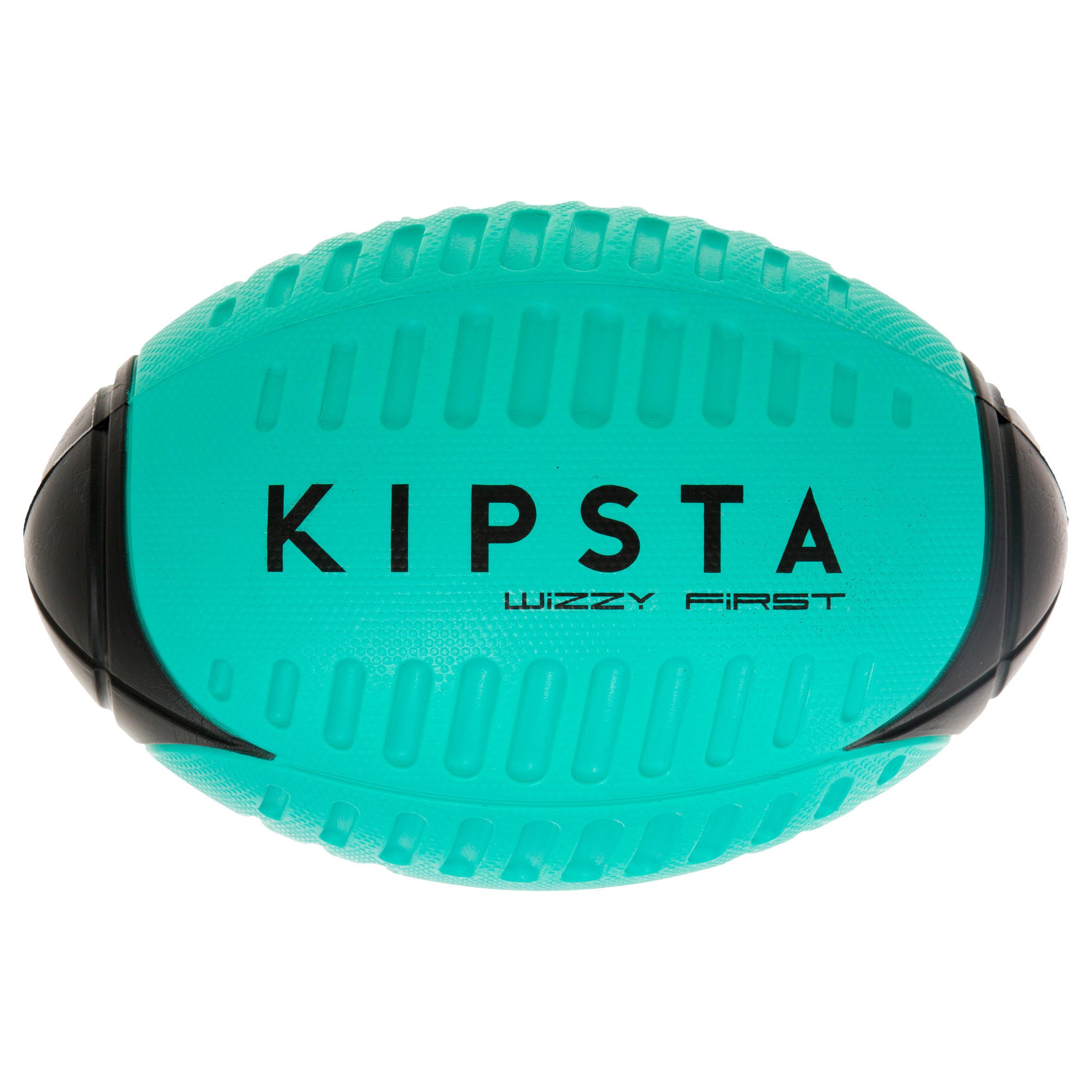 Kipsta Schuimstof rugbybal Wizzy maat 3 blauw