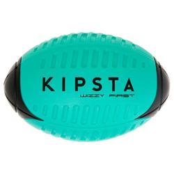 Schuimstof rugbybal Wizzy maat 3 blauw