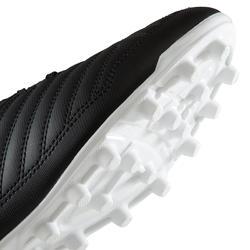Adult Dry Pitch Football Boots Agility 100 AG/FG - Black