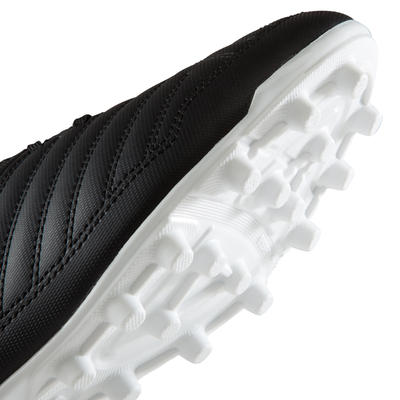 Agility 100 FG Adult Dry Pitches Football Boots - Black