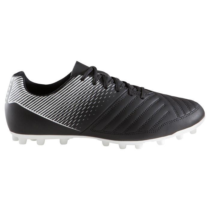 成人款天然草地足球鞋AGILITY 100 FG-黑色