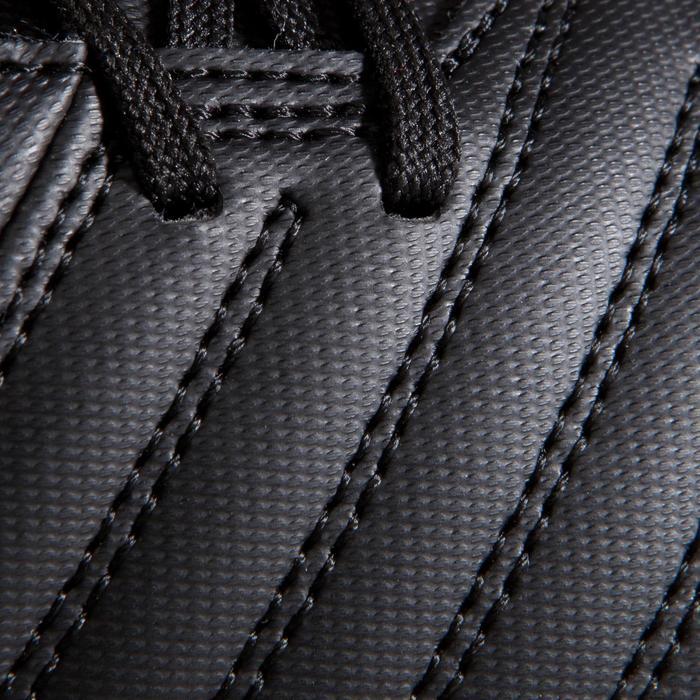 Chaussure de football adulte terrains gras Agility 100 SG noire blanche - 1204239