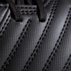 Fußballschuhe Agility 100 SG weicher Boden Erwachsene schwarz/weiß