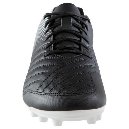 Chaussure de football adulte terrains secs Agility 100 AG/FG adulte noir