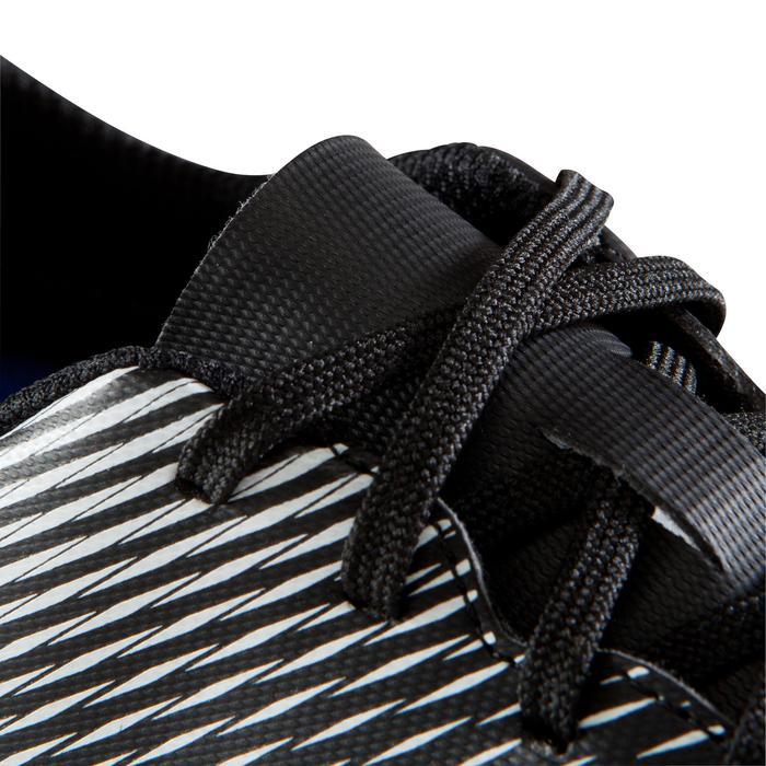 Chaussure de football adulte terrains gras Agility 100 SG noire blanche - 1204244