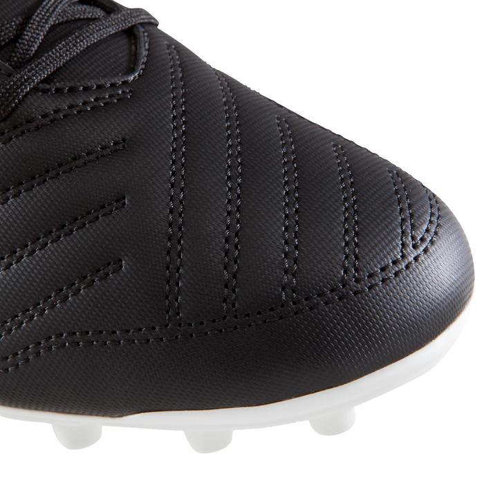 Fußballschuhe Nocken Agility First 100 FG Erwachsene schwarz/weiß