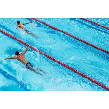 Maillot de bain de natation une pièce femme résistant au chlore Lidia bleu navy - 1204390