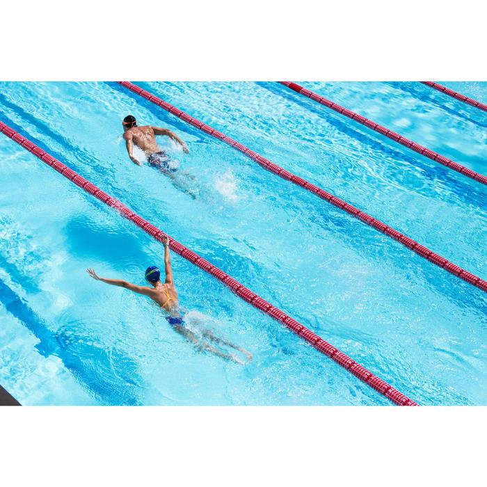 Maillot de bain de natation une pièce femme résistant au chlore Lidia bleu navy - 1204392
