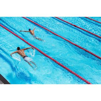 Maillot de bain de natation une pièce femme résistant au chlore Lidia bleu navy - 1204393