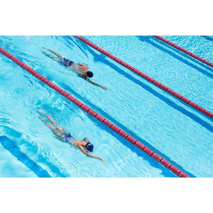 Maillot de bain de natation une pièce femme résistant au chlore Lidia bleu navy - 1204396