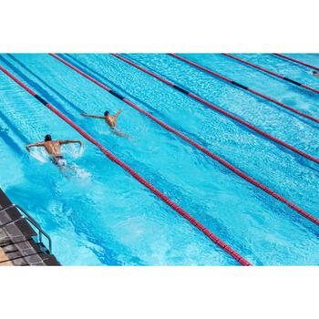 Maillot de bain de natation une pièce femme résistant au chlore Lidia bleu navy - 1204410