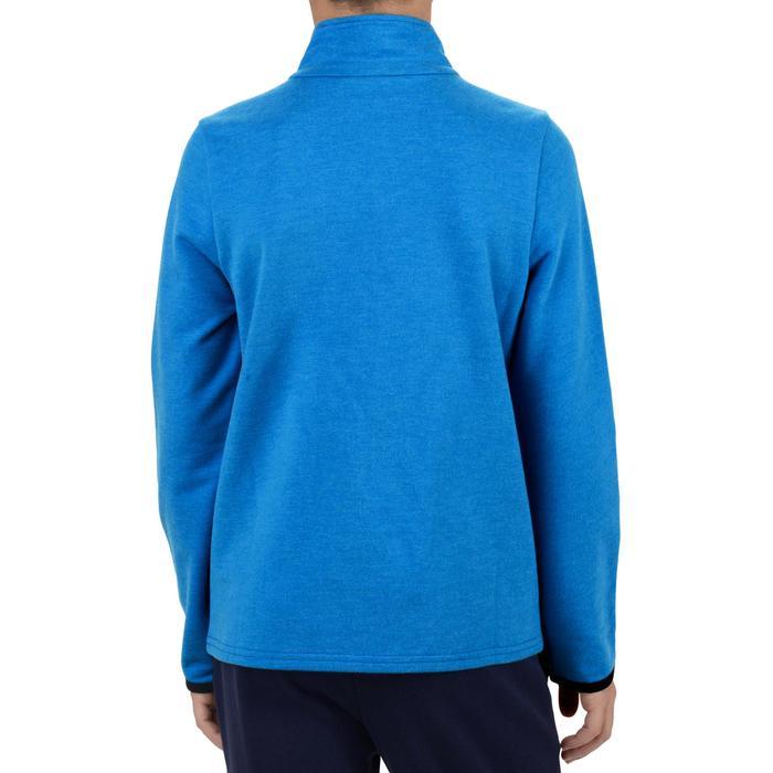 Veste 100 Gym garçon poches gris foncé - 1204438