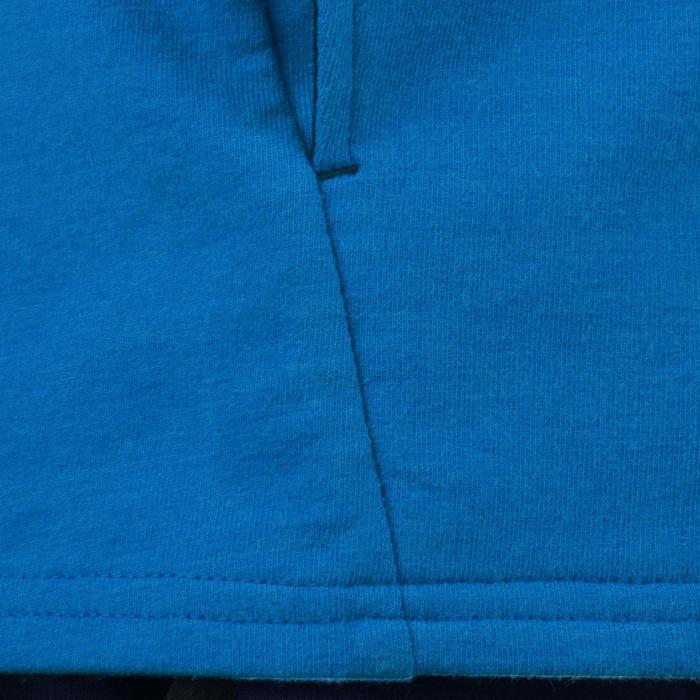 Veste 100 Gym garçon poches gris foncé - 1204453