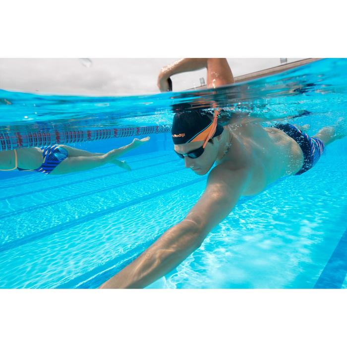 Lunettes de natation B-FAST Noir Orange
