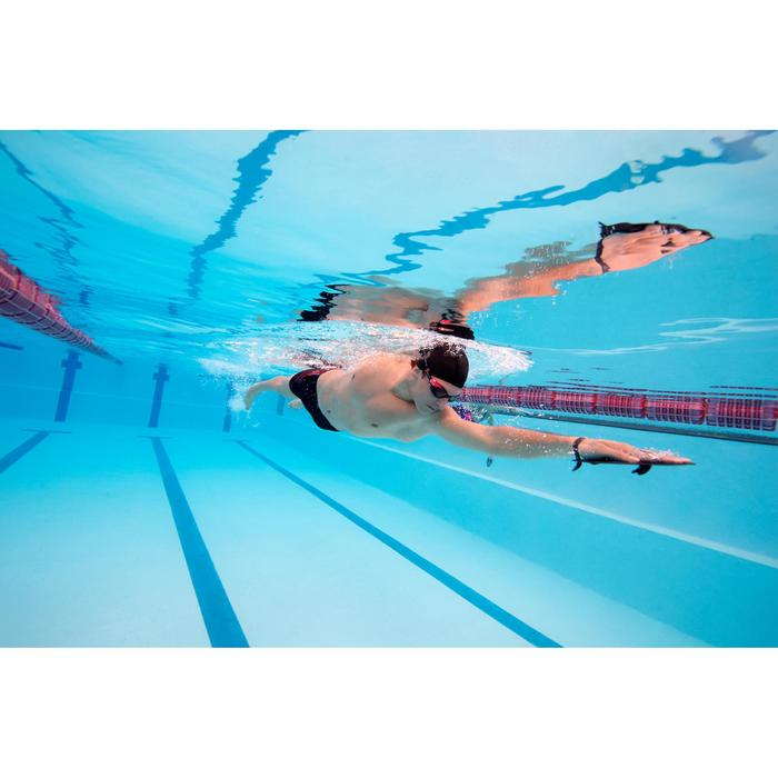 Schwimmpaddles M grau