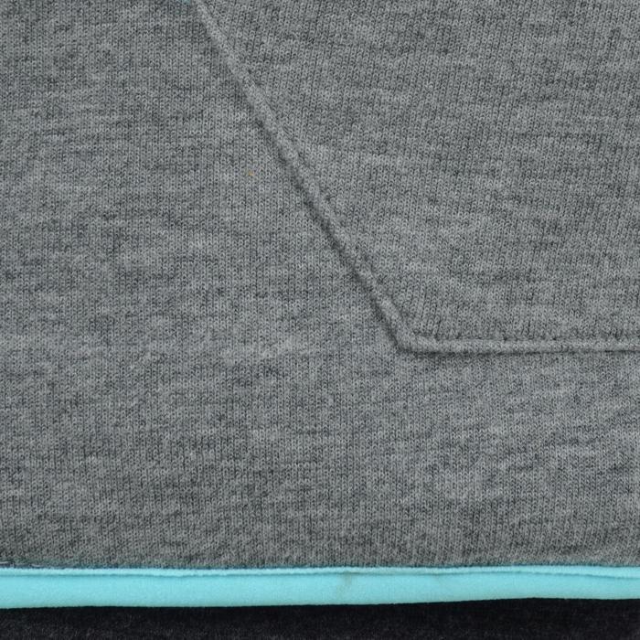 Veste chaude zippée capuche imprimé Gym fille - 1204502